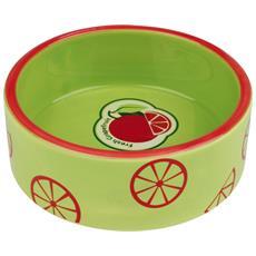 Fresh Fruits Ciotola In Ceramica Colorata (0.8 L / 16 Cm) (verde Lime)