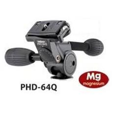 Testa a 3 Movimenti per Fotocamera 133 mm Nero V28208-EU