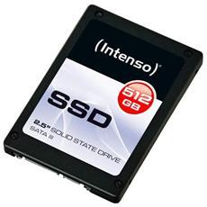 "SSD 512 GB Serie Top Performance Interfaccia Sata III 6Gb / s 2.5"" Stand Alone"