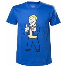 Fallout 4 - Vault Boy Shooting Fingers (T-shirt Unisex Tg. XL)