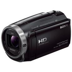 """HDR-CX625 Nero Sensore CMOS Exmos R Full HD Zoom ottico 30x Display 3"""" Stabilizzatore Wi-Fi / NFC"""