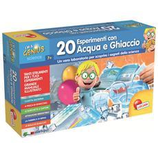 56309 - Piccolo Genio 20 Esperimenti Acqua E Ghiaccio
