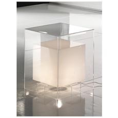 Tavolino Realizzato In Metacrilato Colore Bianco Mod. Space White Cod. 0726