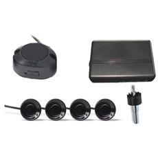 Kit 4 Sensori Di Parcheggio Retromarcia Staccabili Per Auto Con Avvisatore Acustico