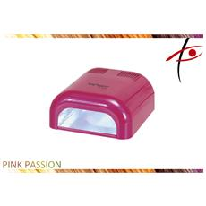 Professionale Uv Lampada ''pink Passion'' Per Uv Gel 36w 4 Bulbi Da 9w Dne-03 A. . .