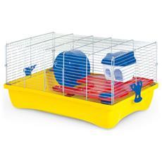 Gabbia Hamster 10 Flat 58x32x26h