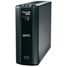 Gruppo di Continuità UPS 1200VA / 720W Back-UPS Pro 10 Prese IEC (C13) / RJ45 / RJ11 / USB AVR VI