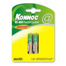 IBT-K1000-B2 - Blister 2 Batterie Ricaricabili Mini Stilo AAA 1000 mAh