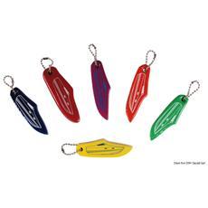 Portachiavi motoscafo colori misti (confezione 10 Pz assortiti)