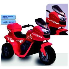Moto Elettrica Sprint BK con Luci e Suoni 6 Volt 1005 / BK
