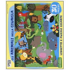 Animali della giungla. Libro puzzle (Gli)