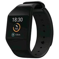 "Smartwatch WiMate Prime Impermeabile 3 ATM Display 0.95"" 4GB con Bluetooth e GPS Colore Grigio"