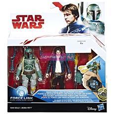 Star Wars Deluxe Figure Han Solo e Boba Fett