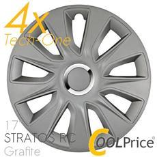 Copricerchi Auto Universali 17 Pollici Tech-one Stratos Rc Grafite 31604