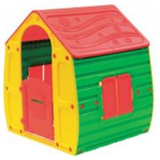 Casetta Bambini Da Esterno O Interno Play House In Resina Termoplastica