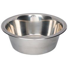 Ciotola In Acciaio Inossidabile Per Cani (2.8 L) (argento)