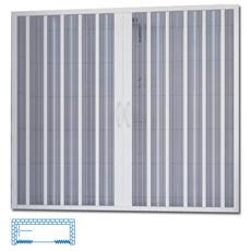 Box vasca a soffietto in PVC apertura centrale 150 x 150 H