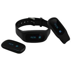 SportBit Bracciale Universale Bluetooth con funzione Fitness e Sonno - Nero