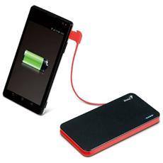 Power Bank da 3000 mAh 1 x USB / Micro-USB Colore Nero / Rosso