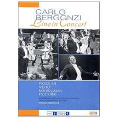 Dvd Bergonzi Carlo - Live In Concert