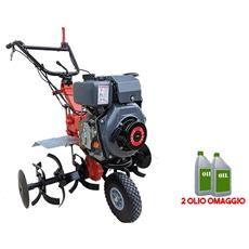 Motozappa A Diesel Trinagria Mz103dt 10hp