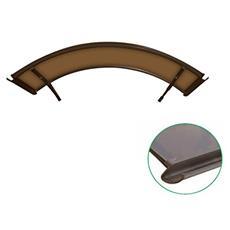 Pensilina Ad Arco Color Bronzo 160 X 120 Centimetri