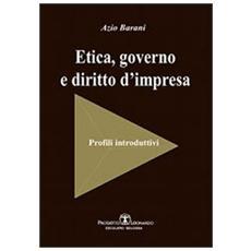Etica, governo e diritto d'impresa