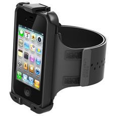 Fascia da Braccio Waterproof Impermeabile per iPhone 4 / 4s - Nero