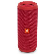 Speaker Wireless Portatile Flip 4 Bluetooth Colore Rosso