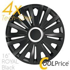 Copricerchi Auto Universali 16 Pollici Tech-one Royal Black 31553