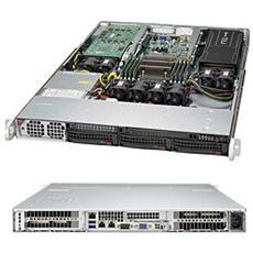 5018GR-T, Intel C612, Socket R (LGA 2011) , Intel, 1U, Aspeed AST2400, Xeon