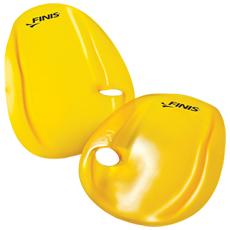 AGILITY, Hand paddle, Giallo, L, Swim workout