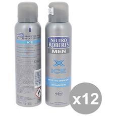 Set 12 Deodorante Spr 150 Men Ice