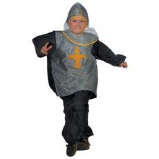 Costume Cavaliere Per Bambini 6-10 Anni