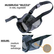 Museruola Muzzle Net Per Cani - Varie Misure - L