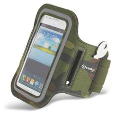 """Fascia da braccio XXL Universale per smartphone fino a 5"""" - Verde militare"""