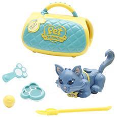 Pet Parade - Carry Kit con gattino e portantina