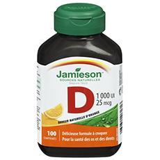 Vitamina D masticabile, integratore alimentare di vitamina D