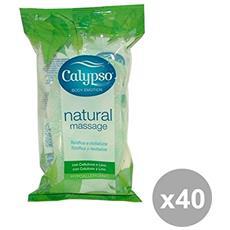 Set 40 Calypso Spugna Bagno Natural Massagge Accessori Per Il Bagno