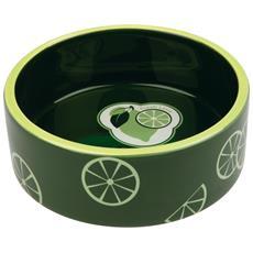 Fresh Fruits Ciotola In Ceramica Colorata (0.8 L / 16 Cm) (verde Scuro)