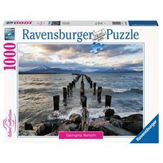 Puzzle Puerto Natales, Cile 1000 pz 70 x 50 cm 16199