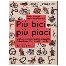 Più bici, più piaci. Viaggio semiserio alla scoperta della dueruote perfette per te