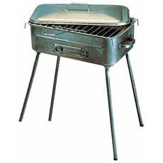 Barbecue a legna, corpo in lamiera