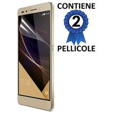 Pellicola Proteggi Display Per Huawei Honor 7 Confezione 2 Pezzi
