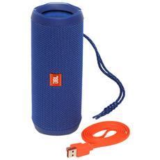 Speaker Wireless Portatile Flip 4 Bluetooth Colore Blu