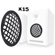 """Confezione 15 Griglie Di Protezione Per Gli Altoparlanti 5.25 """""""" / 13 Centimetri"""