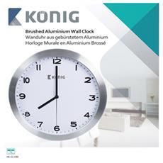 König KN-CL10N, AA, Alluminio, Alluminio, Vetro