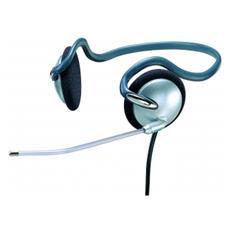 G&BL MHB2587 Stereofonico Passanuca Grigio cuffia e auricolare