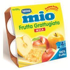 Frutta Grattuggiata Mela 100 Gr X 4