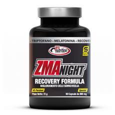 Integratore Alimentare a Base di Zinco Magnesio Vitamina B6 per Sportivi ZMA NIGHT 90 CPS